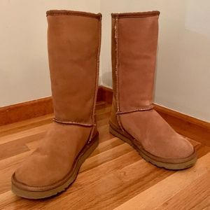 CLASSIC TALL BOOT ~ Chestnut ~ Size 7